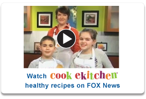 Health Alliance Plan's youngest members cook healthy snacks using recipes from a kids' health websites