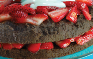 Chocolate Strawberry Shortcake Healthy Recipe