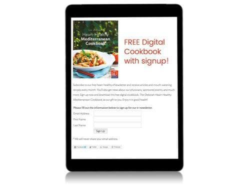 Digital Cookbook Lead Generator