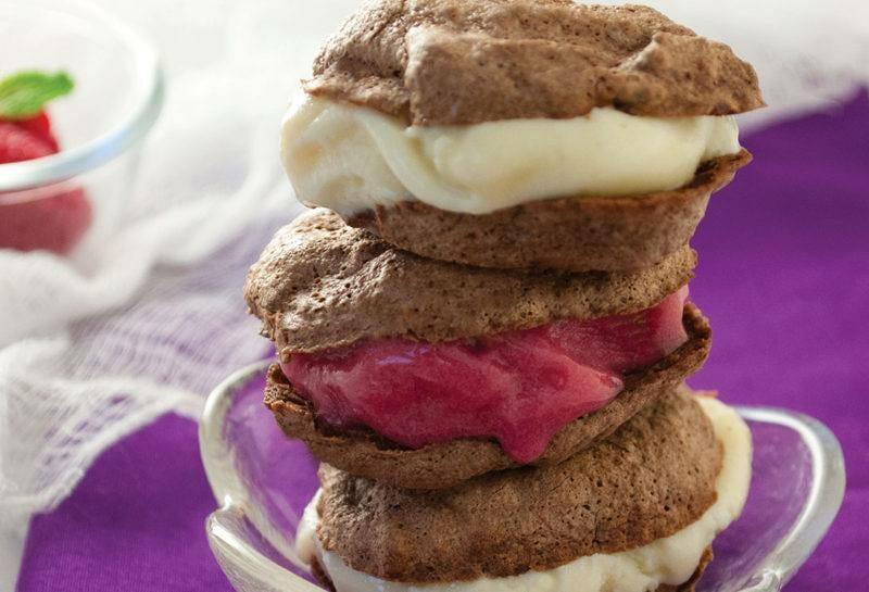 Healthy Recipes - Ice Cream Sandwiches