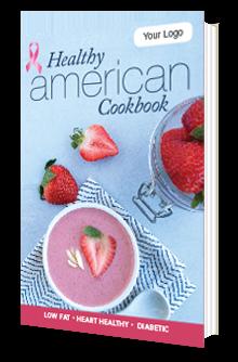 Custom Breast Cancer Awareness Cookbook
