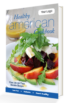 Custom Healthy American Cookbook