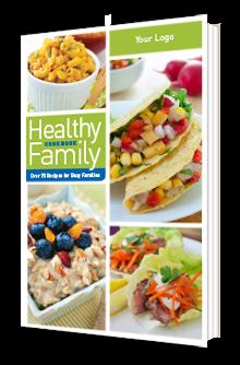 Custom Healthy Family Cookbook