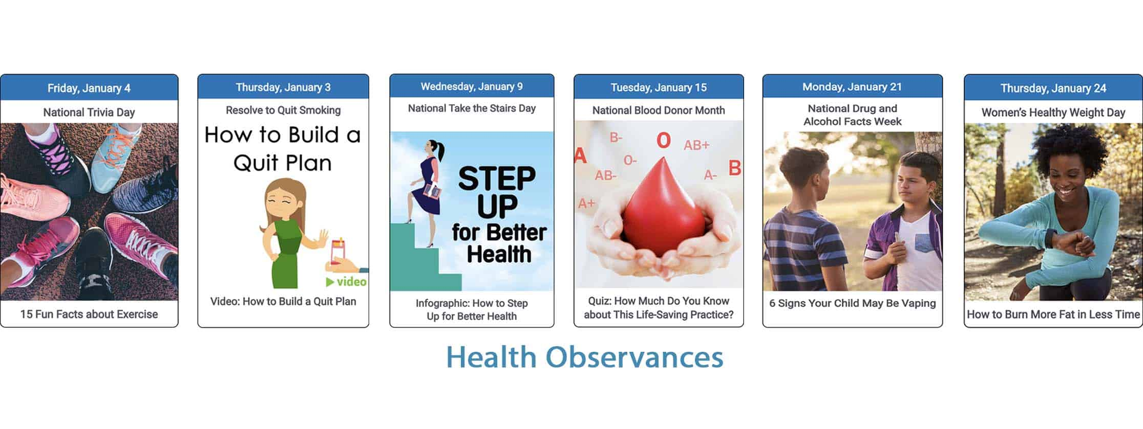 health observances
