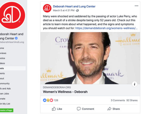 Use the power of celebrity news to promote health awareness