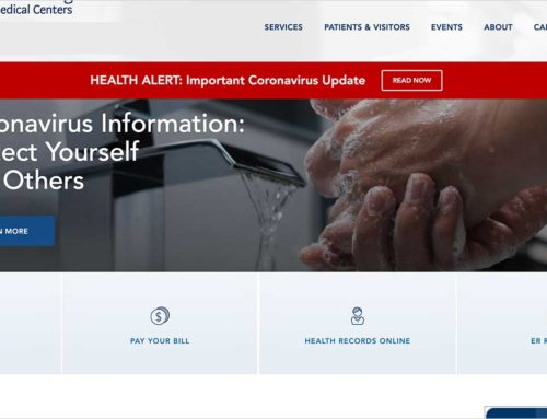 Hospital website traffic increases as people search for credible coronavirus articles