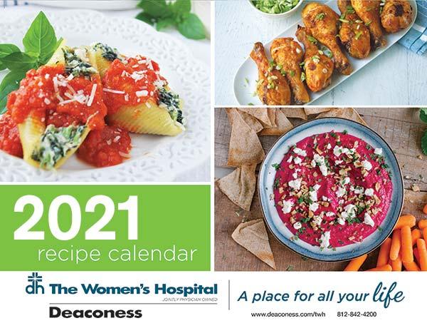 Healthy Recipes Calendar