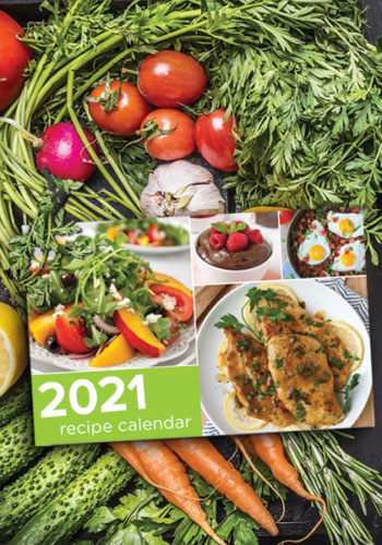 Healthy Recipe Calendars Medicare Content Strategy