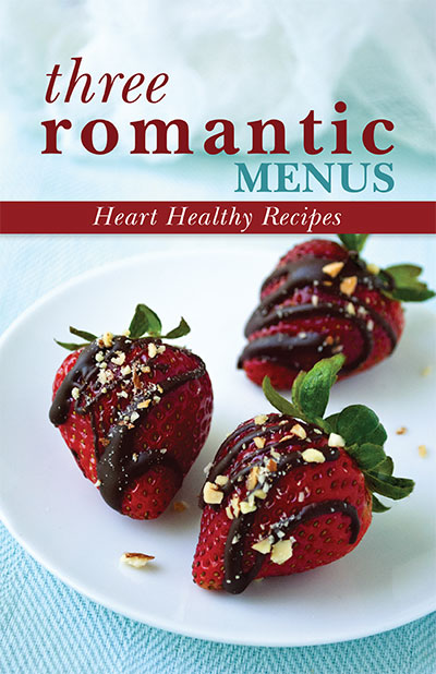 Three Romantic Menus Digital Cookbook