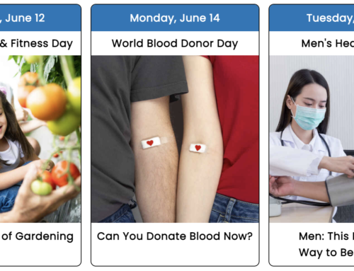 Your June 2021 Health Observance Calendar