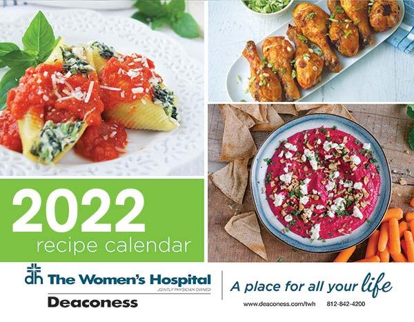 2022 Healthy Recipe Calendar