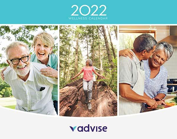 2022 Wellness Calendar