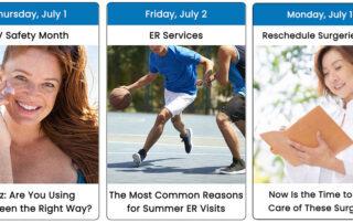 July Health Observance Calendar