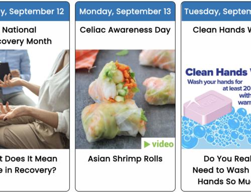Your September 2021 Health Observance Calendar