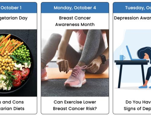 Your October 2021 Health Observance Calendar